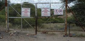 Zaum vor einer Vitol-Mine in Südafrika