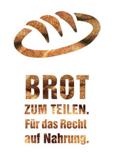 Icon Brotaktion mit Text