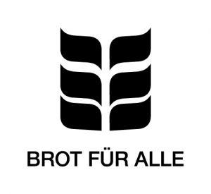 Logo Brot für alle (s/w)