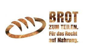 Logo Brot zum Teilen (Icon mit Text)