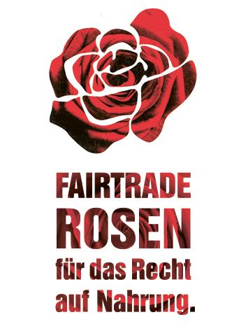 Logo Fairtrade Tosen für die Recht auf Nahrung