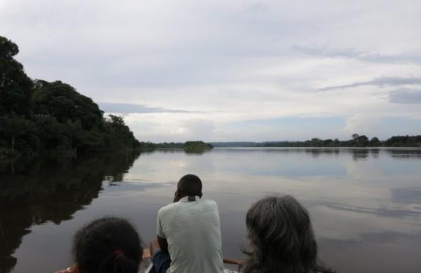 Die Quilombolas leben von der Fischerei und der Jagd…