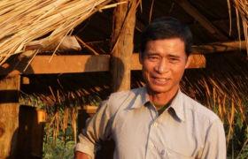 Phaeng Vang, Kleinbauer in Laos