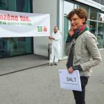 "Aktion ""Benzol""  Foto: Charles Ellena, Lausanne, 26.09.2016"