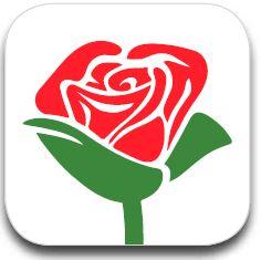 Das Icon zur App «Give a Rose» Bild: © © Fastenopfer/ Brot für alle