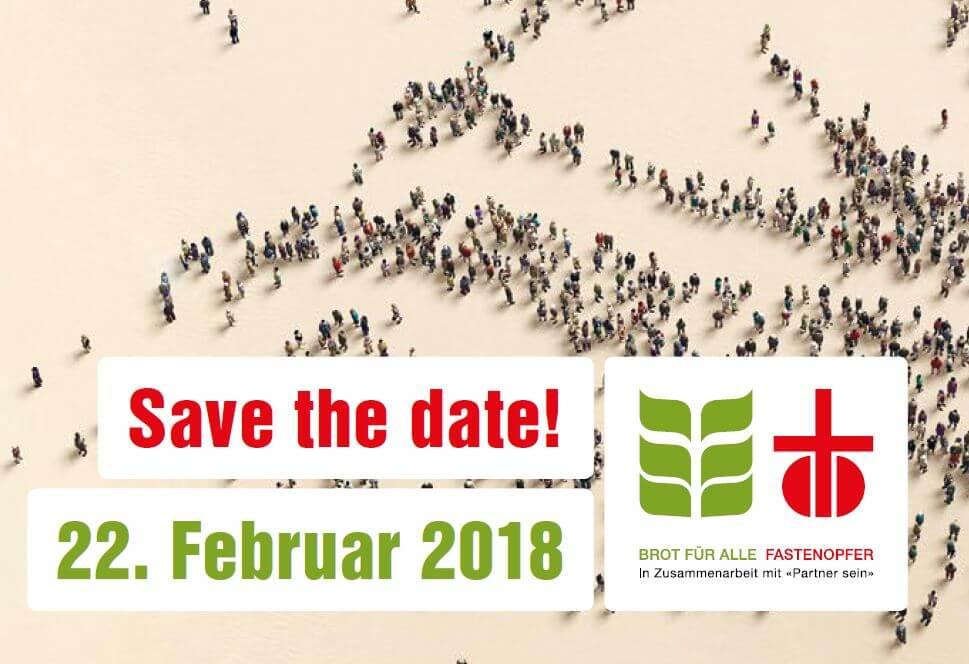 Save the date: Ein Tag im Zeichen des Wandels
