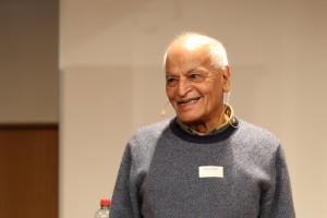 «Du bist, und deshalb gibt es mich. Wir existieren nicht in Abspaltung, wir existieren durch unsere Beziehungen, weil wir in einer Gemeinschaft leben, in Kontakt mit uns und den anderen.» Satish Kumar aus unserem «Wandeltag»