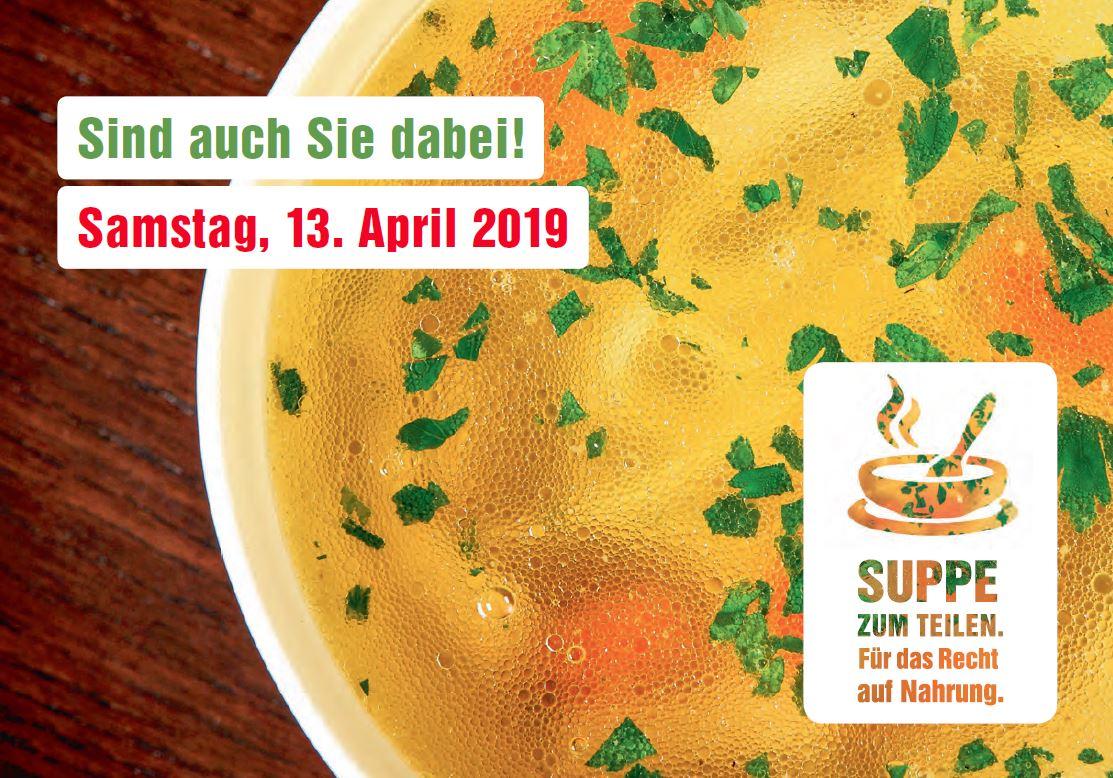 Nationaler Suppentag von Fastenopfer und Brot für alle