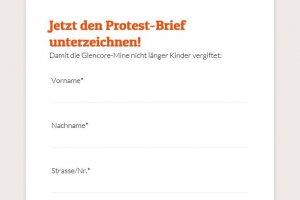 Protestbrief online