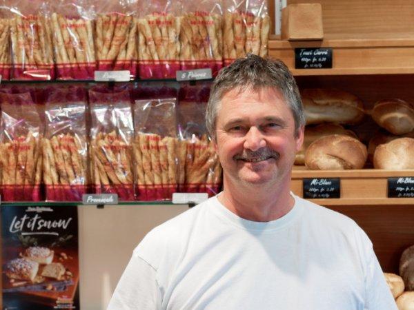 Jean-Marc Bidlingmeyer in seiner Bäckerei-Confisérie. Bild: Jerome Klotz.